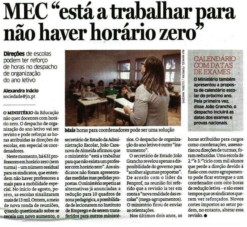 JN MEC está a trabalhar para não haver horários zero